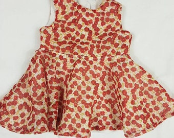 Sale* Roses are red Sun Dress to fit American Girl Doll or 18in Doll's