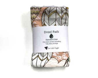 Drool Pads - Hot Air Balloons - Ready to ship
