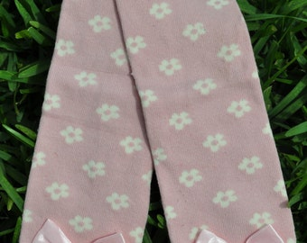 Pink with flowers leg Warmers
