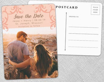 Isabella - Postcard - Save-the-Date