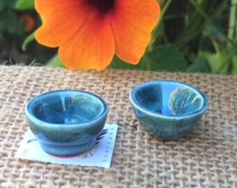Miniature Pottery Bowls