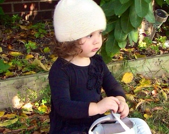 Knit Cashmere Hat / Baby and Child Size