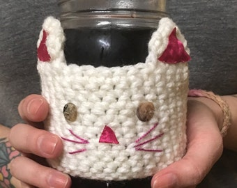 Kitty Cat Cup Cozy