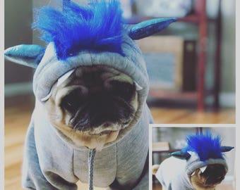 Monster dog hoodie