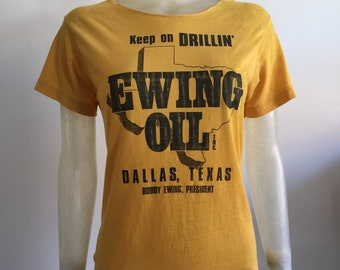 Ewing Oil, 70s/80s Dallas t-shirt