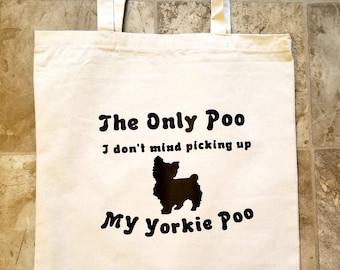 Yorkie Poo tote