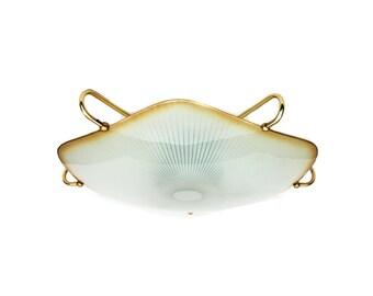 1950s ceiling lamp flushmount lighting