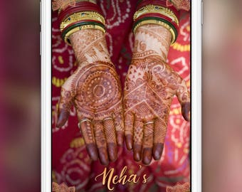 Mehndi Night : Mehndi filter etsy