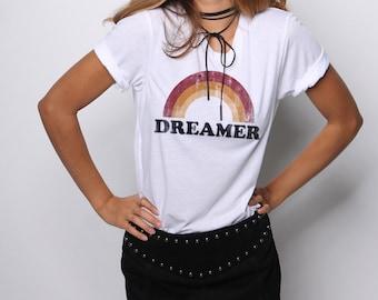 Retro Shirt, 70s Graphic Tee, Vintage T shirt, Rainbow Shirt, Retro Graphic Tees, Pride Shirt