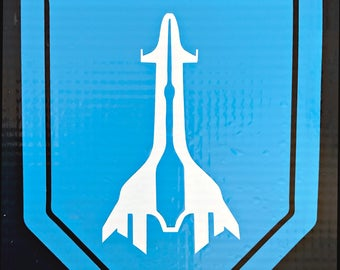 Mass Effect ANDROMEDA PATHFINDER - 2-color vinyl decal