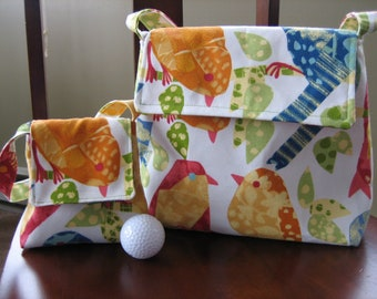 The Mommy-and-Me Bird Lady Bag Set