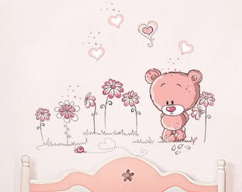 Great wall decal for girl / 100 X 75 cm