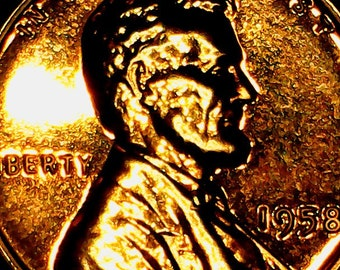 1958 bu wheat penny