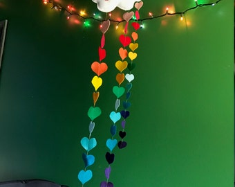 Rainbow Heart Cloud Mobile