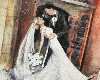 Save the date/custom portrait