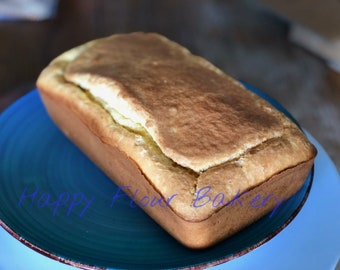 Gluten free and sugar free lemon Pound Cake