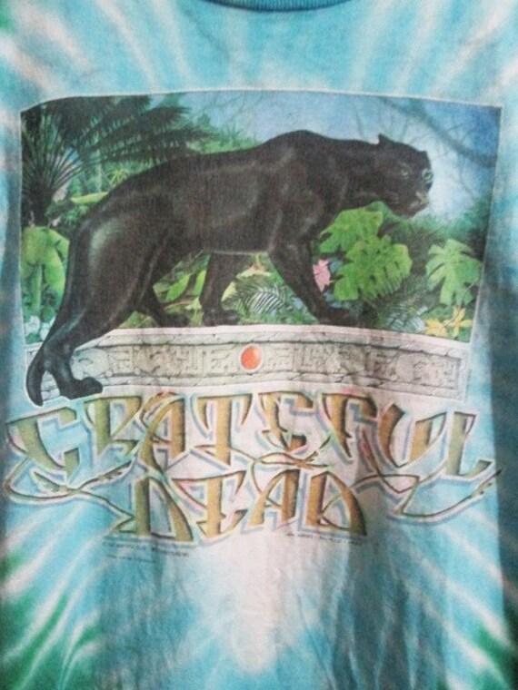 T 1980s Rainforest Rare DEAD shirt Dye Original Tie GRATEFUL Vintage 1qpRvFR