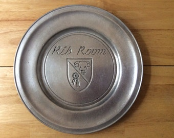 Wilton Pewter Plate FREE SHIPPING!!