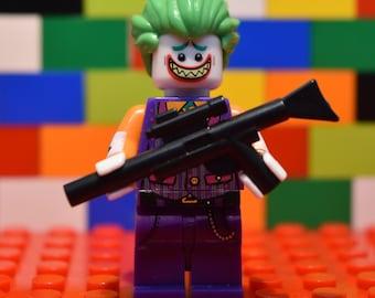 The Joker (with Machine Gun) - Lego Brooch Pin