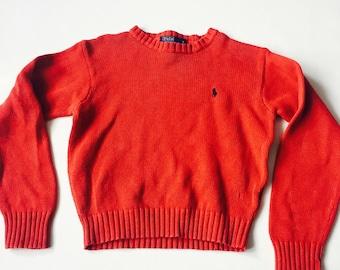Ralph Lauren Polo Vintage Bright Sweater