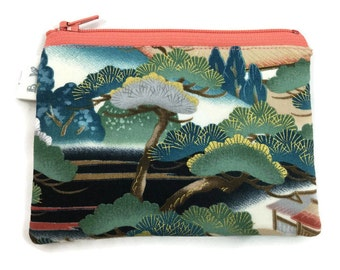 Coin Purse Coin Bag Small Cosmetic Clutch in Asian Bridge
