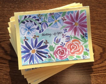 Set of 10 Thinking of You Cards