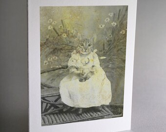 Kitten, Note Cards, Kitten Note Cards, Cat Cards, Cat, Kitty Notecard, Thank You Card, Note Card, Handmade Cards, Card Set, Greeting Card