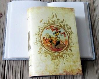 Vintage Vögel Journal, Tagebuch-Notizbuch-Planer, Vogel, Freude, Dankbarkeit Zeitschrift - Geschenk für unter 30