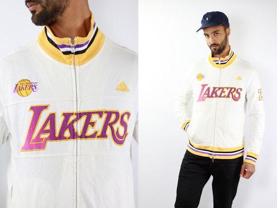 Lakers Sweatshirt Adidas Sweater Lakers Sweater Adidas Jumper Lakers Vintage Sweatshirt Lakers 90s Sweater Lakers Jumper Adidas Sweatshirt