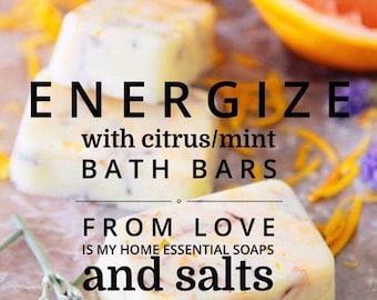 Energize Citrus/Mint Bath Bar