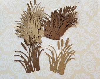 Die cut Cattails Embellishments.  #H-45