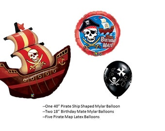 Pirate Ship Balloon Set