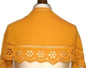 Celandine Shawl - PDF Knitting Pattern