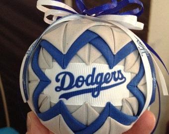 LA dodgers ornament