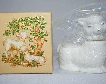 Avon Little Lamb with Sweet Honesty Cologne 1977-78  NIB Free Shipping