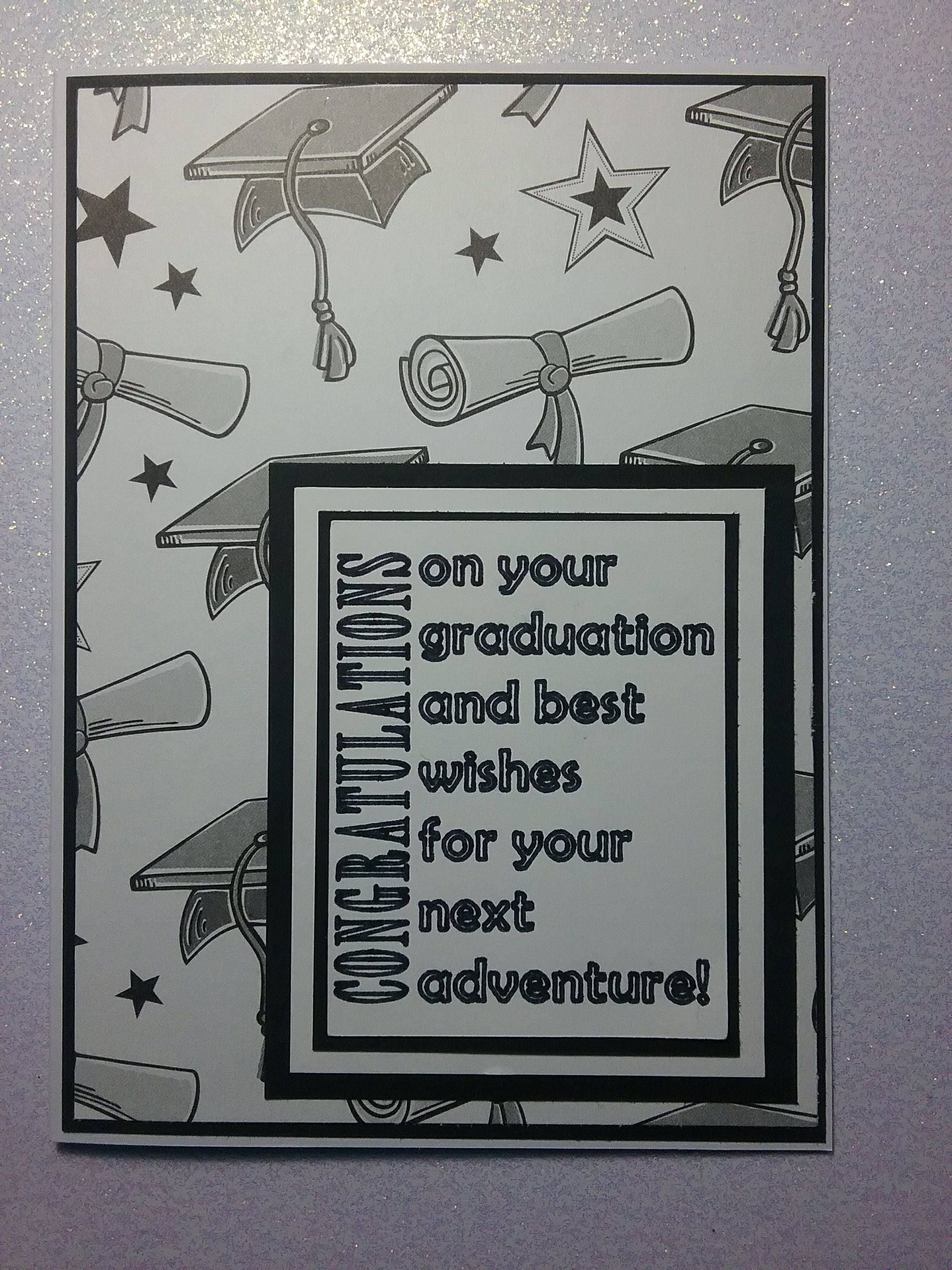 Graduation Card Handmade High School Graduation College