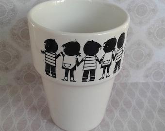 Mug, Jacquelyn and Janneke, Fiep West Village, TAMS England