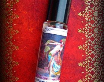Bohemian Boudoir hippy perfume oil, mystical sensual perfume oil 10ml roll on, wild woman, opium, musk, patchouli, nag champa