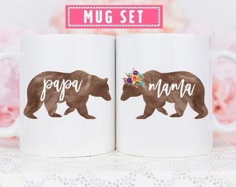 Mama Bear Mug, Papa Bear Mama Bear, Papa and Mama Bear, Papa Bear Mug, Papa and Mama Bear Mugs, Papa Bear Mama Bear Mugs, Papa Mama Bear