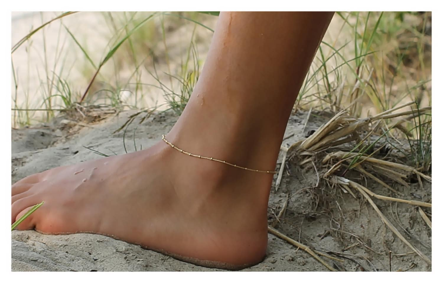 pointed strap gold missguided ankle shoe anklet