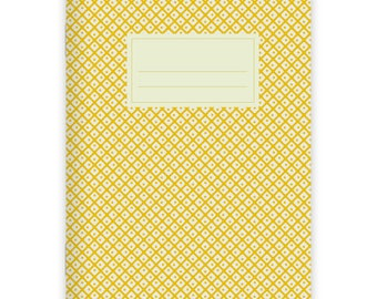 Notebook Stapled A5 Japanese Pattern No. 3