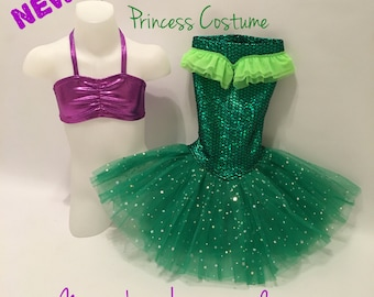 Ariel The Little Mermaid Princess Costume For Dress up and Portraits or Halloween!
