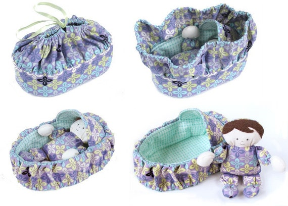 Basket and Baby Purse - immediate download - PDF sewing pattern ...