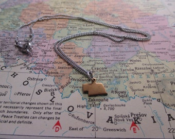 The Thelma Necklace - Tiny Nebraska Charm Necklace