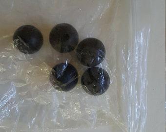 Mallet head rubber ball
