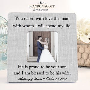 Mother of Groom Wedding Gift, Mother of the Groom Frame, Mother of Groom Wedding Frame, Mother of Groom Gift, Parents Wedding Gift