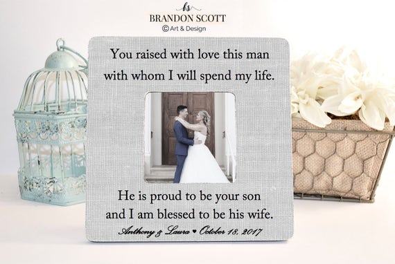 Mother of Groom Wedding Gift Mother of the Groom Frame