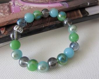 Beaded Bracelet , Simple Bracelet, Jewellery for Spring