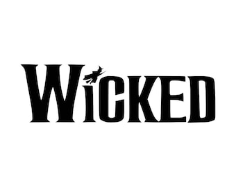 Wicked the Musical Logo