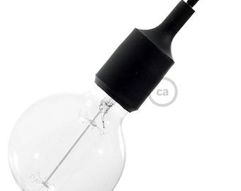 Silicone Light Socket kit - Black Socket
